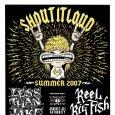 画像2: Less Than Jake / Summer 2007 ポスター [w/ Reel Big Fish, Streetlight Manifest, Against All Authority] (2)