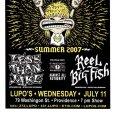 画像3: Less Than Jake / Summer 2007 ポスター [w/ Reel Big Fish, Streetlight Manifest, Against All Authority] (3)