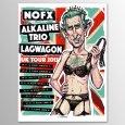 画像1: NOFX / 2015 UK Tour [Munk One] ポスター (1)