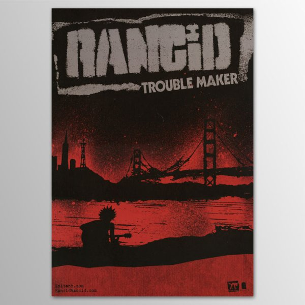画像1: Rancid / Trouble Maker ポスター (1)