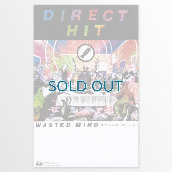 画像1: Direct Hit / Wasted Mind ポスター (1)