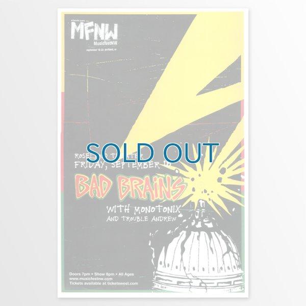 画像1: Bad Brains / 2009 Roseland Theatre, Portland, Oregon Concert ポスター (1)