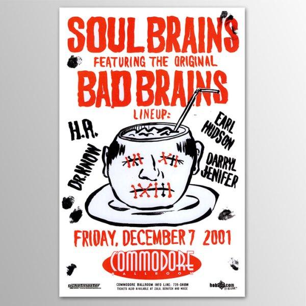 画像1: Soul Brains - Bad Brains / Vancouver 2001 ポスター (1)