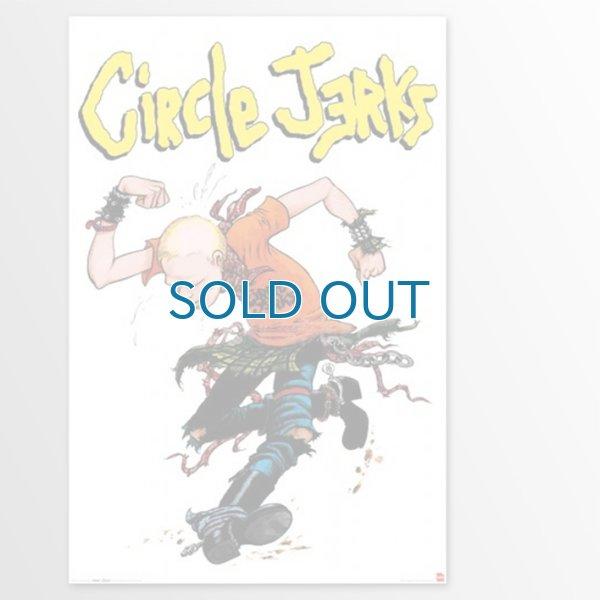 画像1: Circle Jerks / Skanker (24 x 36) ポスター (1)