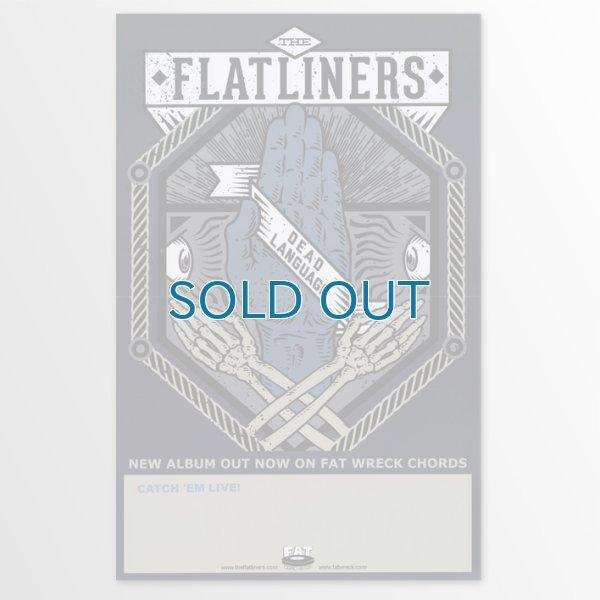 画像1: The Flatliners / Dead Language ポスター (1)