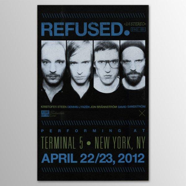 画像1: Refused / New York Show ポスター (1)