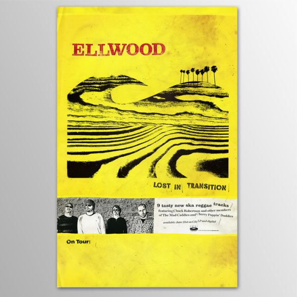 画像1: Ellwood / Lost In Transition ポスター (1)