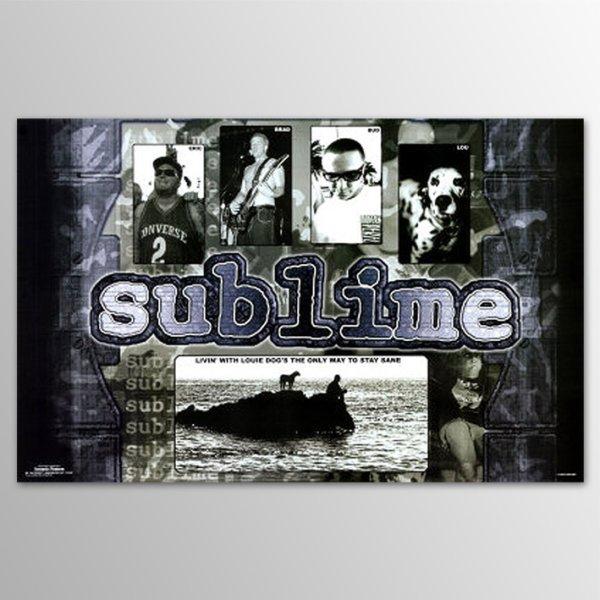画像1: Sublime / Purple ポスター (1)