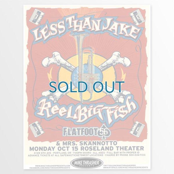 画像1: Less Than Jake / 2012 Gig Poster Portland Oregon Concert ポスター (1)