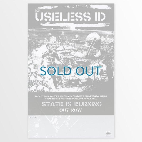画像1: Useless ID / State Is Burning ポスター (1)