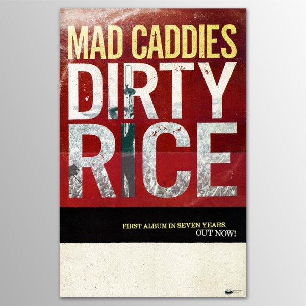 画像1: Mad Caddies / Dirty Rice ポスター (1)