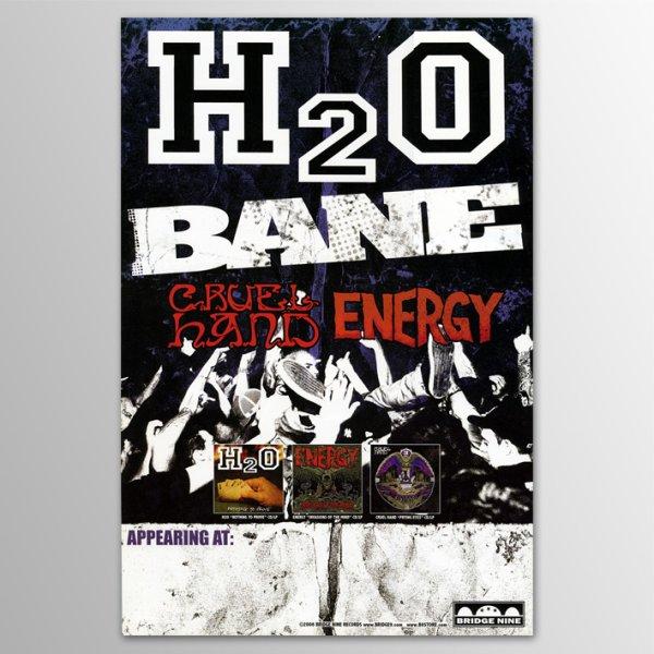 画像1: H2O / Tour (w/ Cruel Hand, Energy & Bane) ポスター (1)