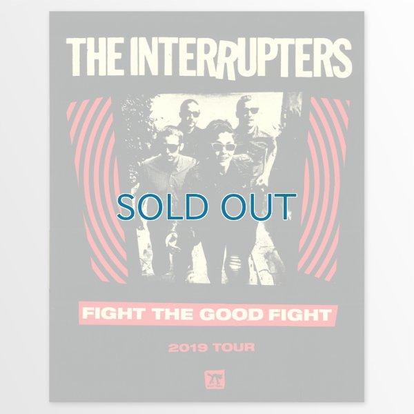 画像1: The Interrupters / FTGF Tour Screen Printed ポスター (1)