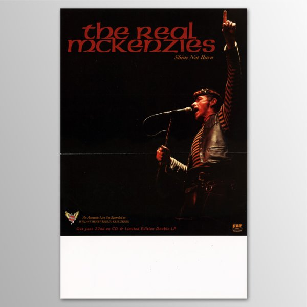 画像1: Real McKenzies / Shine Not Burn ポスター (1)