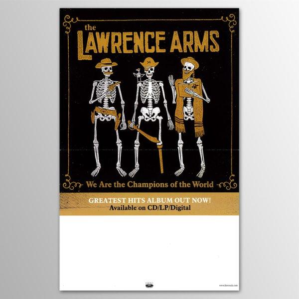 画像1: The Lawrence Arms / We Are The Champions of The World ポスター (1)