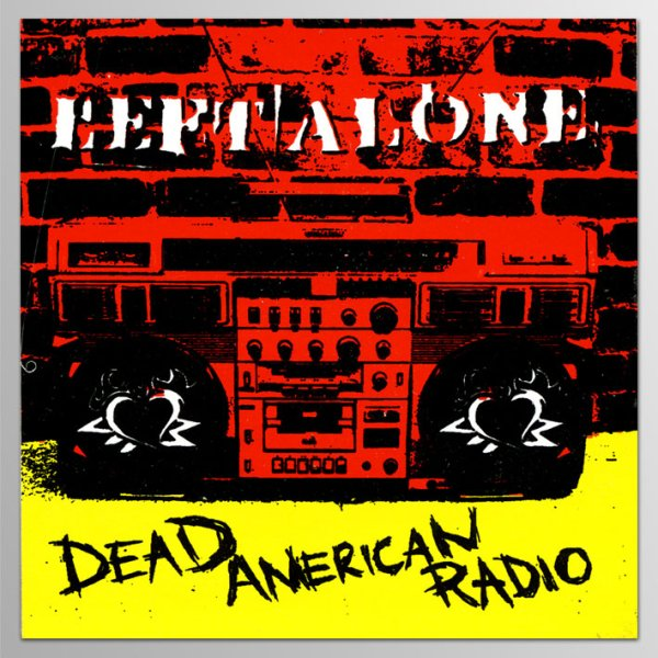 画像1: Left Alone / Dead American Radio ステッカー (1)