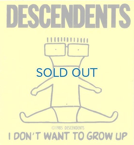 画像1: Descendents / I Don't Want To Grow Up ステッカー (1)