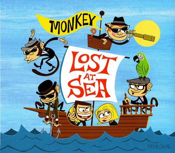画像1: Monkey / Lost At Sea (1)