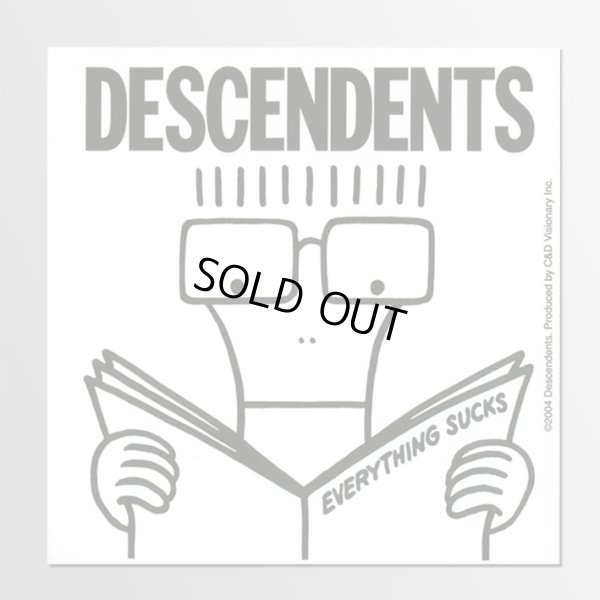 画像1: Descendents / Everything Sucks ステッカー (1)