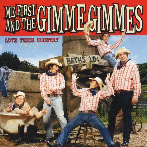 画像1: Me First and the Gimme Gimmes / Love Their Country (1)
