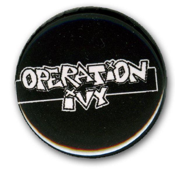 画像1: Operation Ivy / Rectangle バッヂ (1)