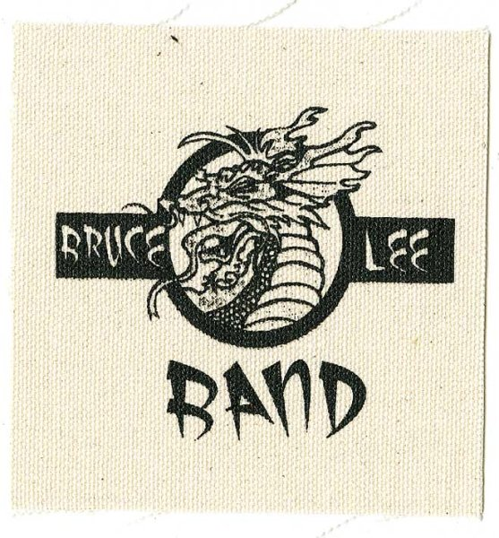 画像1: Bruce Lee Band / Dragon Logo Cloth パッチ (1)