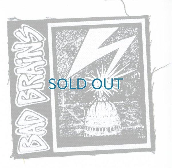 画像1: Bad Brains / Lightning Bolt Cloth パッチ (1)