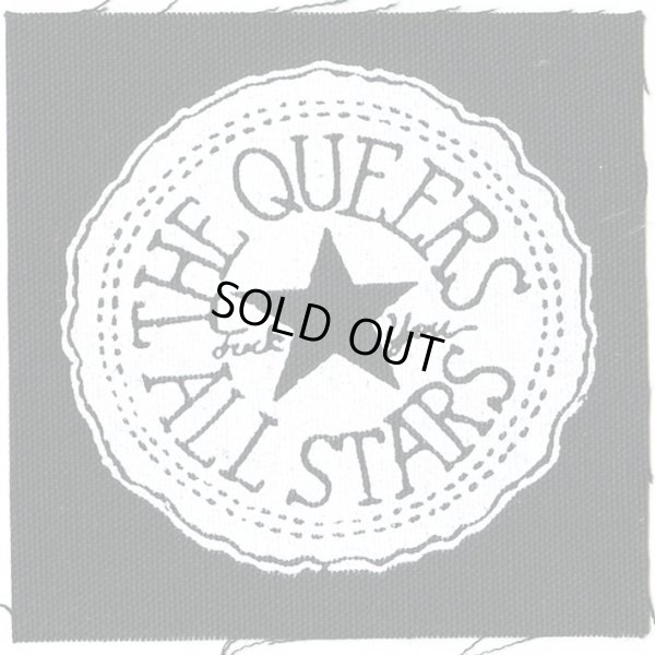 画像1: The Queers  / All Stars Cloth パッチ (1)