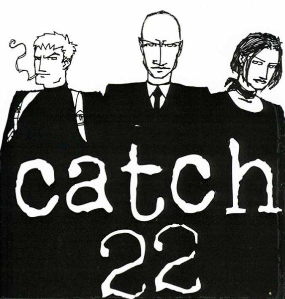 画像1: Catch 22 / Band ステッカー (1)