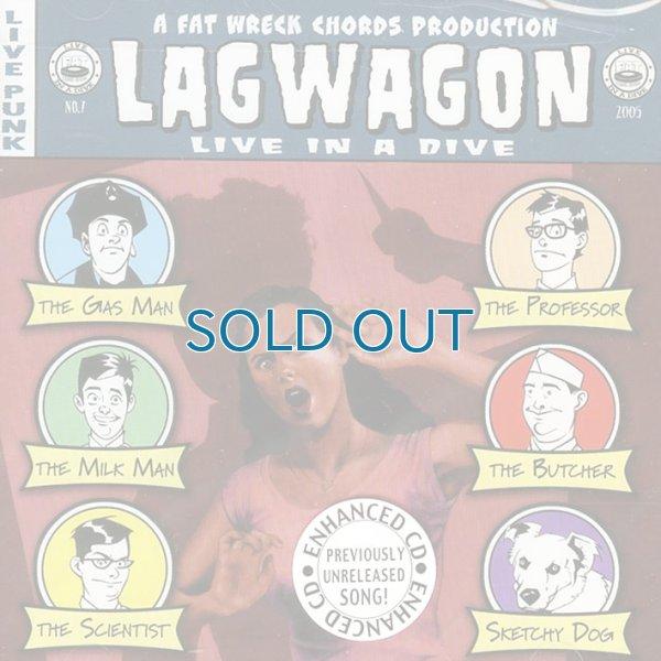画像1: Lagwagon / Live In A Dive (1)