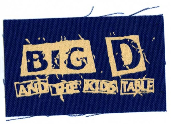 画像1: Big D And The Kids Table  / Haggard Cloth パッチ (1)
