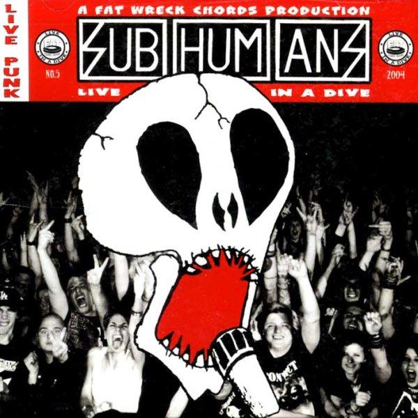 画像1: Subhumans / Live In A Dive (1)