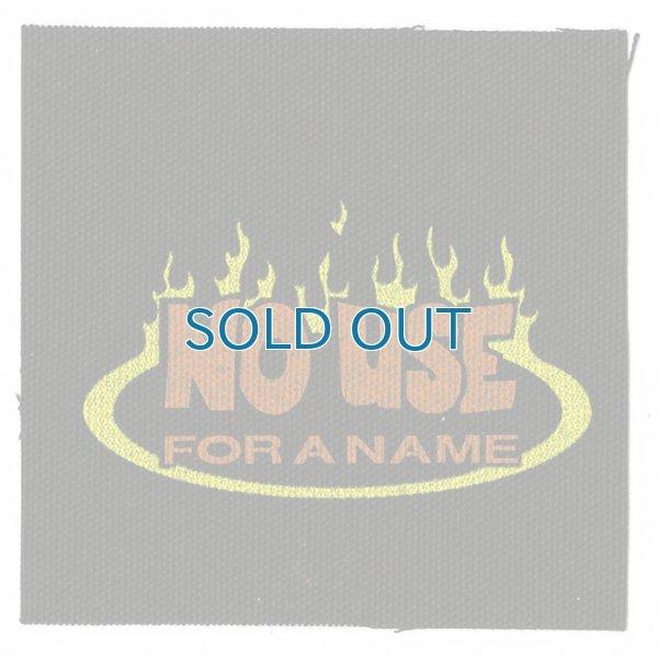 画像1: No Use For A Name  / Flame Logo Cloth パッチ (1)