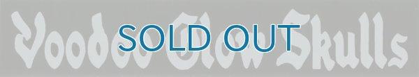 画像1: Voodoo Glow Skulls / Black and Gray Logo ステッカー (1)