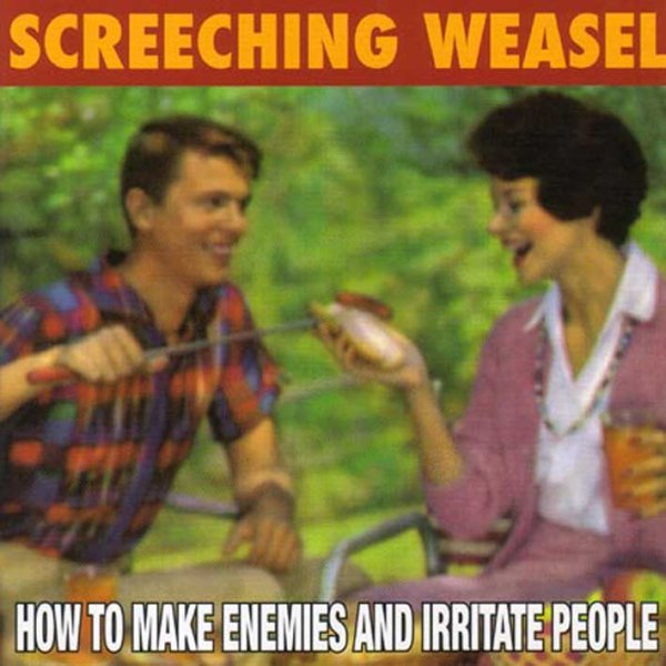 画像1: Screeching Weasel / How To Make Enemies And Irritate People (1)