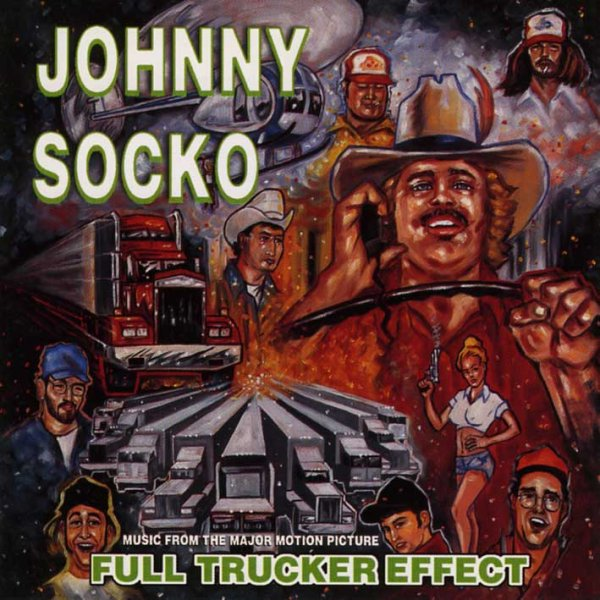画像1: Johnny Socko / Full Trucker Effect (1)