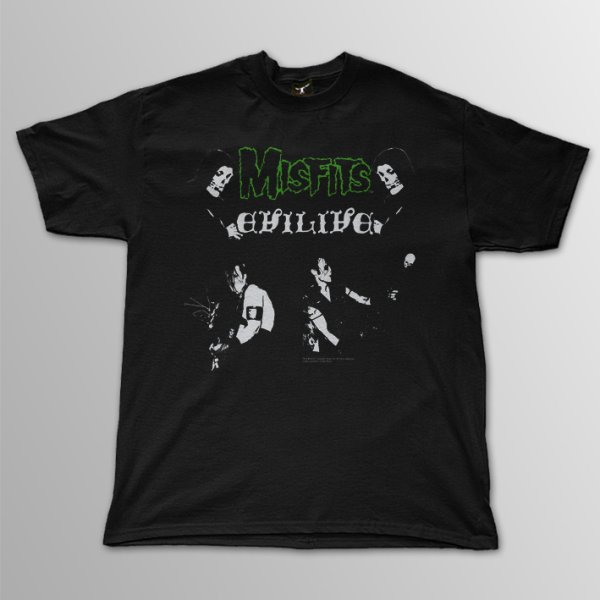画像1: The Misfits / Evil Live T/S (1)